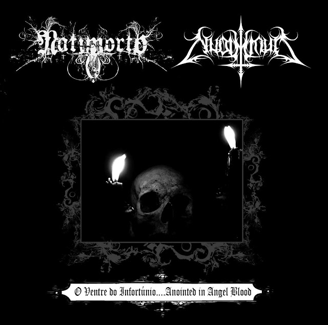 NYAR 009 - NATIMORTO / NUDIMMUD: O Ventre do Infortúnio... Anointed in Angel Blood - Split-CD